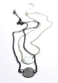 NEWS Contrasts Necklace 925  Silver.