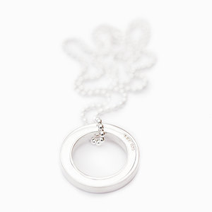 Necklace Ring 925 Silver