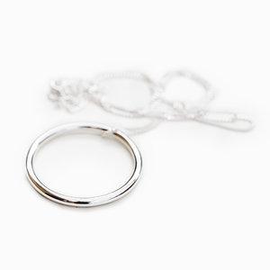 Stor Cirkel 925 Silver