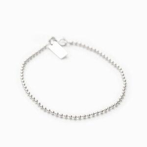 Bracelet thin Ball Chain