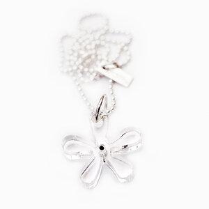 Necklace, acrylic flower