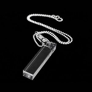 Halsband, transparent stav
