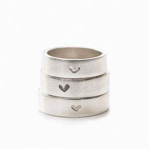 Ring 925 Silver with a Heart