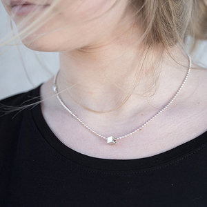 News SQUARE Necklace